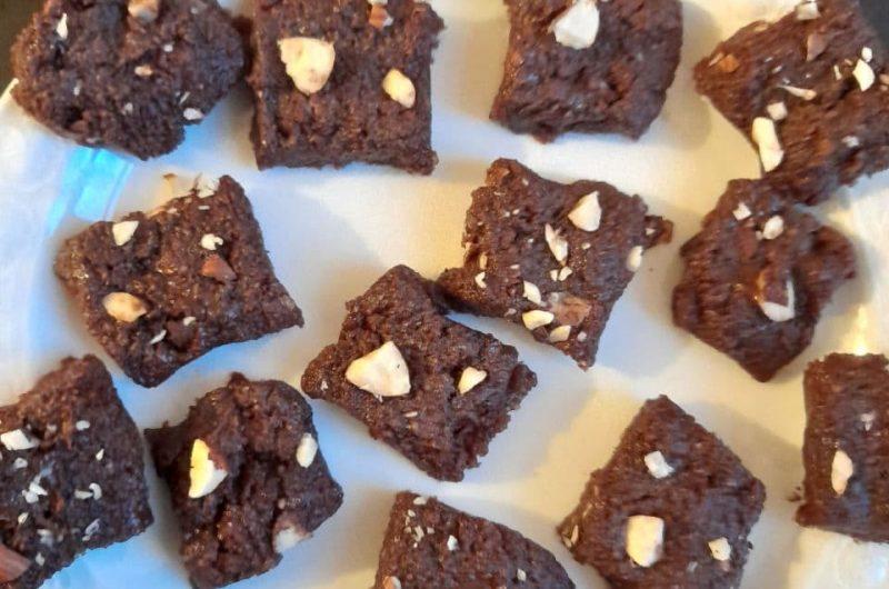 Hazelnut Chocolate Burfi